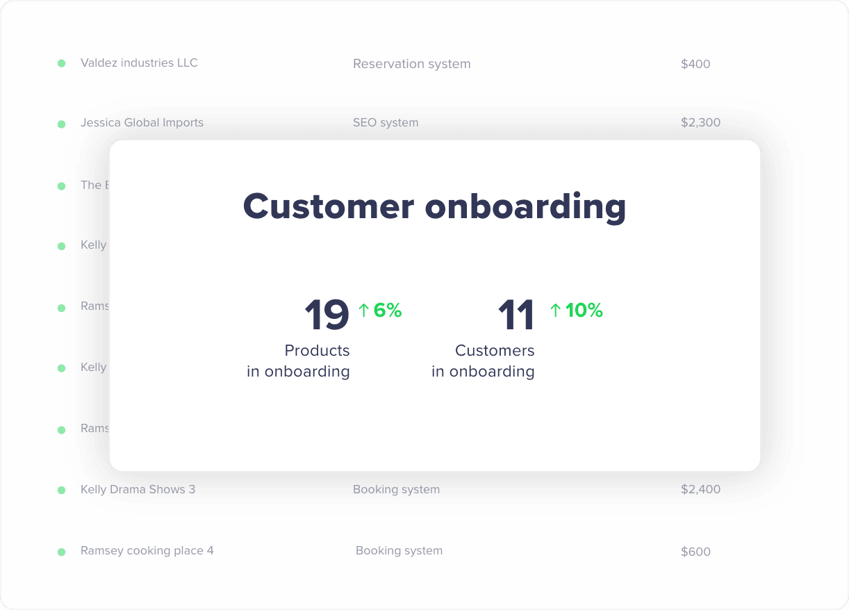 Customer Onboarding Rizer CRM